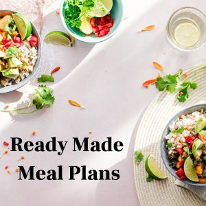 Ready Made Nutrition Plans & Programs